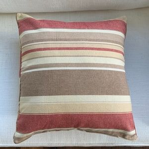 RH Striped Pillow Cover